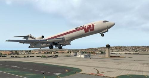Western Airlines 727-200Adv For FlyJSim V3