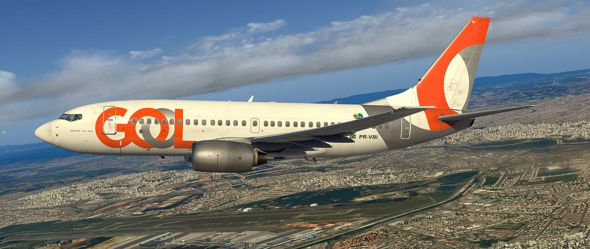 GOL PR-VBI for 737-700 Ultimate - Aircraft Skins - Liveries