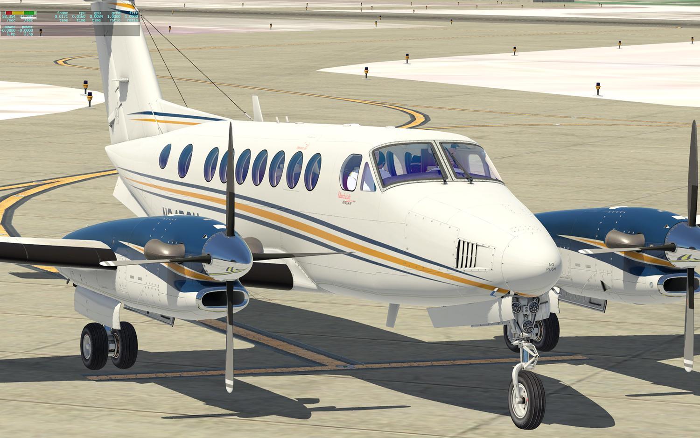 AFL KA 350 No Green Tint Window EXT Mod - Aircraft Skins