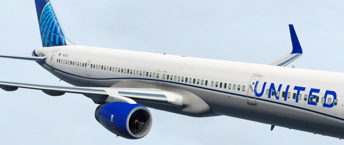 Flight Factor B757-300 in United 2019 Livery - Aircraft