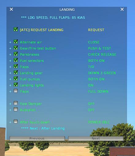 Checklist (clist txt) for the Diamond DA-62 (Aerobask