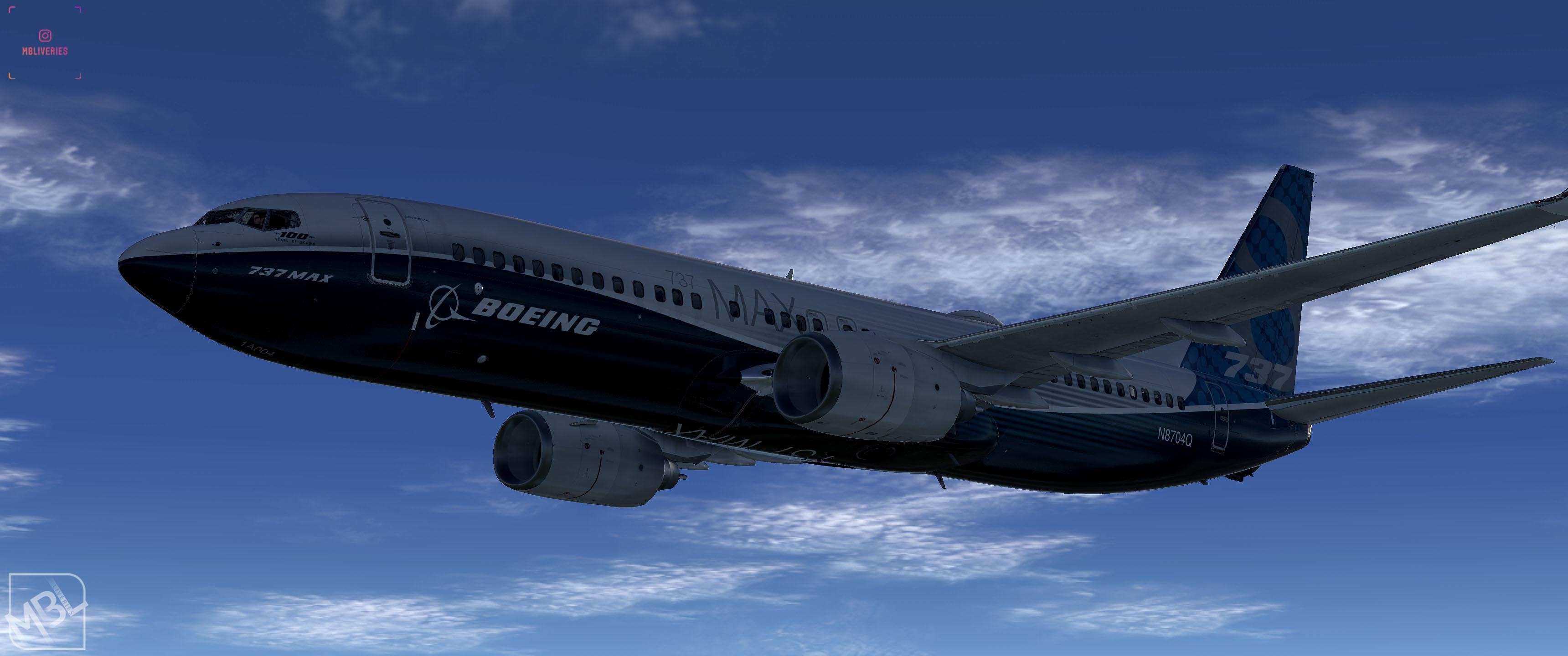 Boeing House (MAX version - 2016) - Boeing 737-800 (Default) - XP11