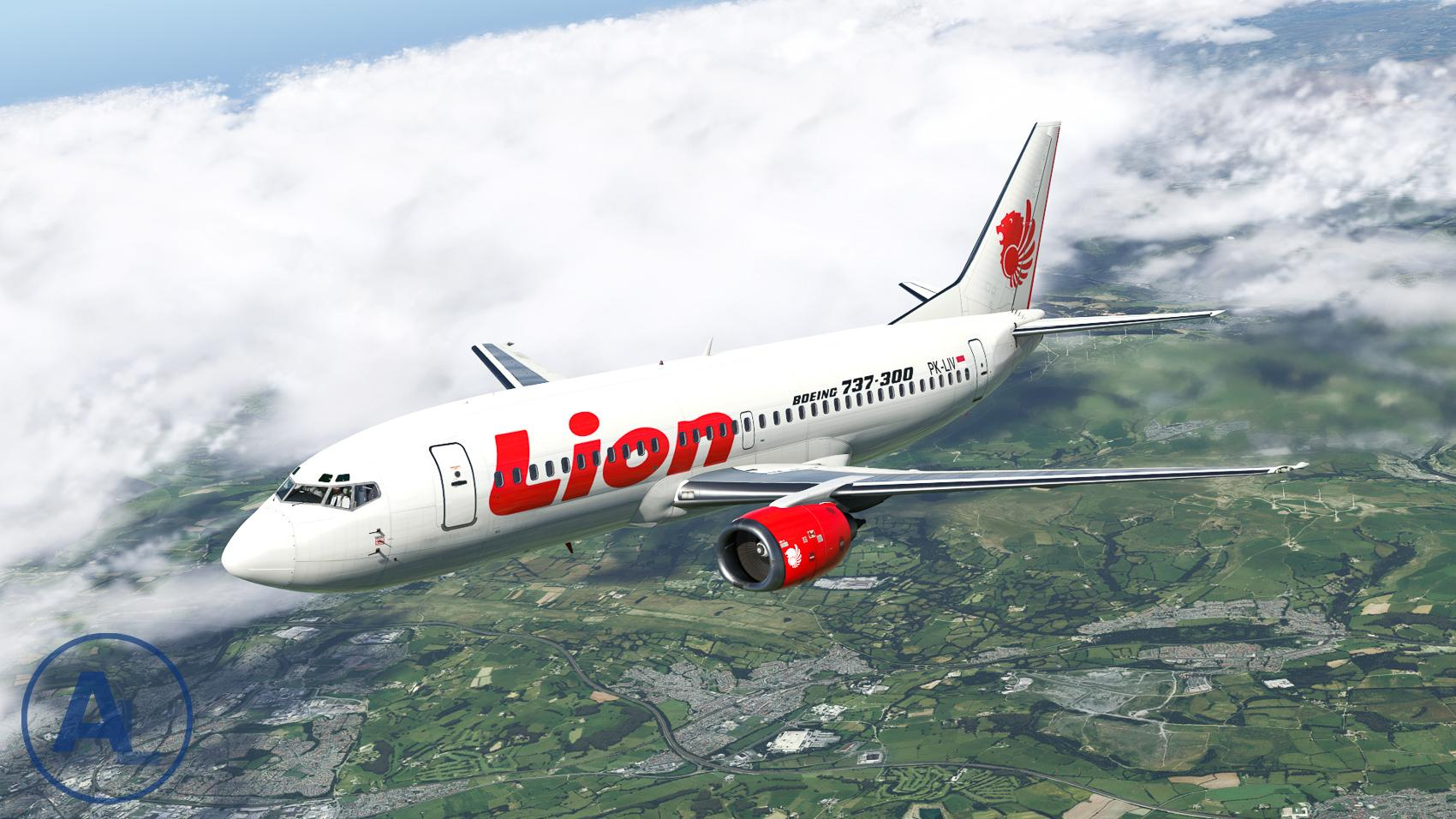 Lion Air IXEG 737 - Aircraft Skins - Liveries - X-Plane Org