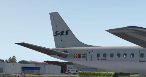 Scandinavian Airlines/Scanair DC-8-63