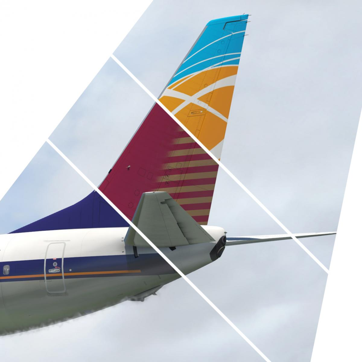 FSX Legacy Airlines Pack for Zibo 3 31+ - Aircraft Skins