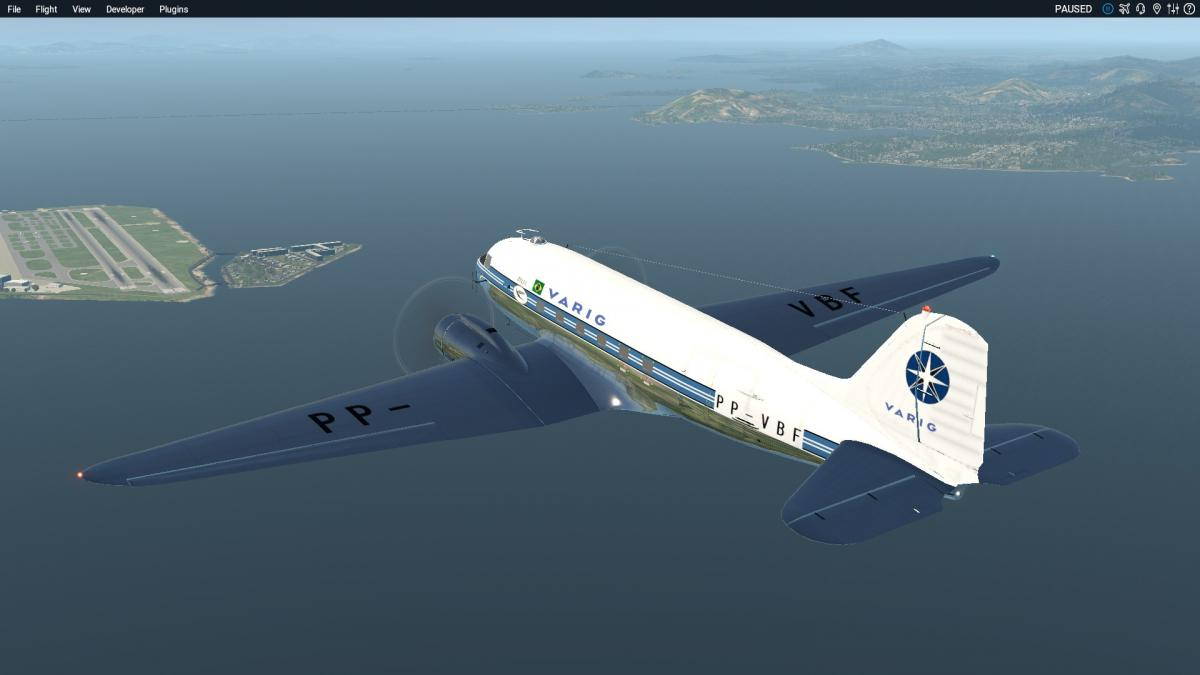 VARIG DC-3 (PP-VBF) - Aircraft Skins - Liveries - X-Plane Org Forum