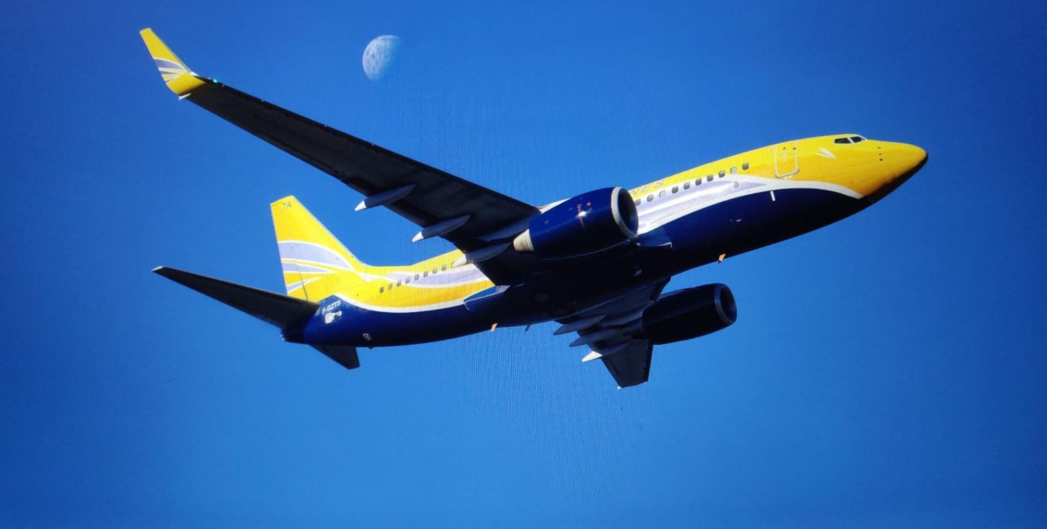 LFR F-GZTS ASL Airlines Boeing 737-700 Ultimate - Custom