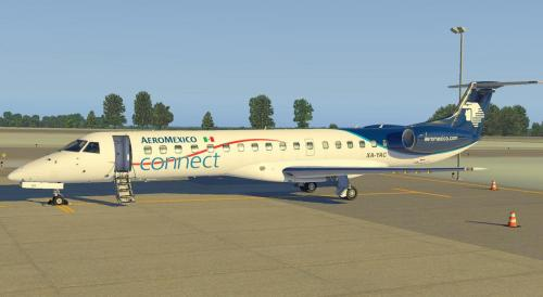 AeroMexico Connect Embraer ERJ-145 by X-Crafts - Aircraft