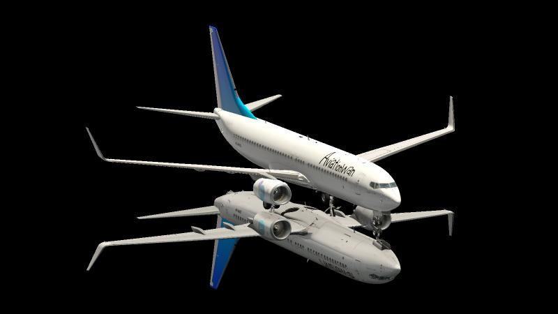 Boeing 737-800 Aviationwan repaint - Aircraft Skins