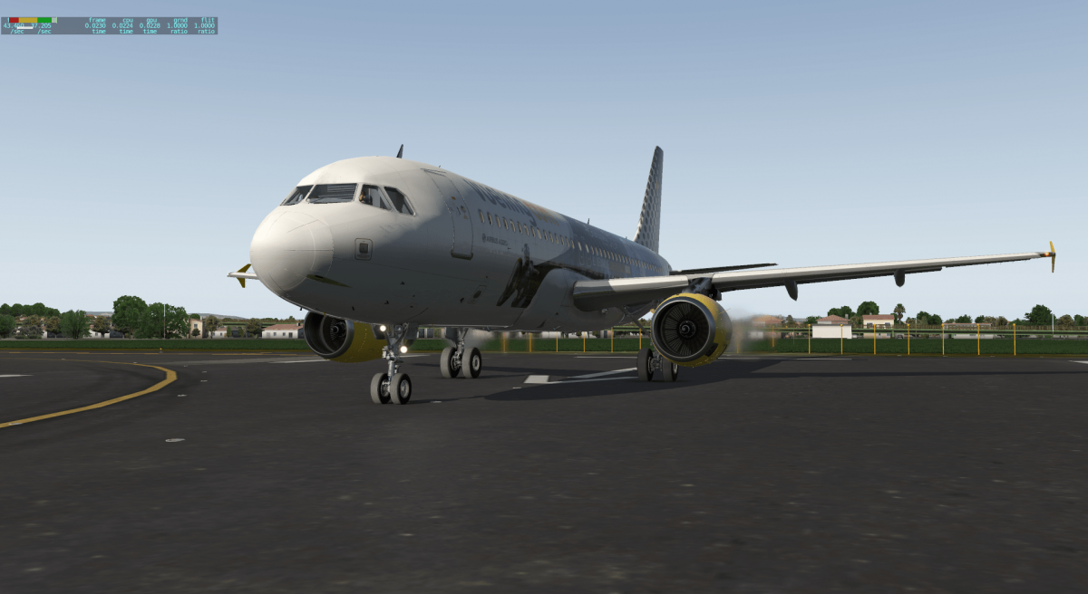 collection vilain N° 739 VUELING   AIRBUS A 320   EC-KDG