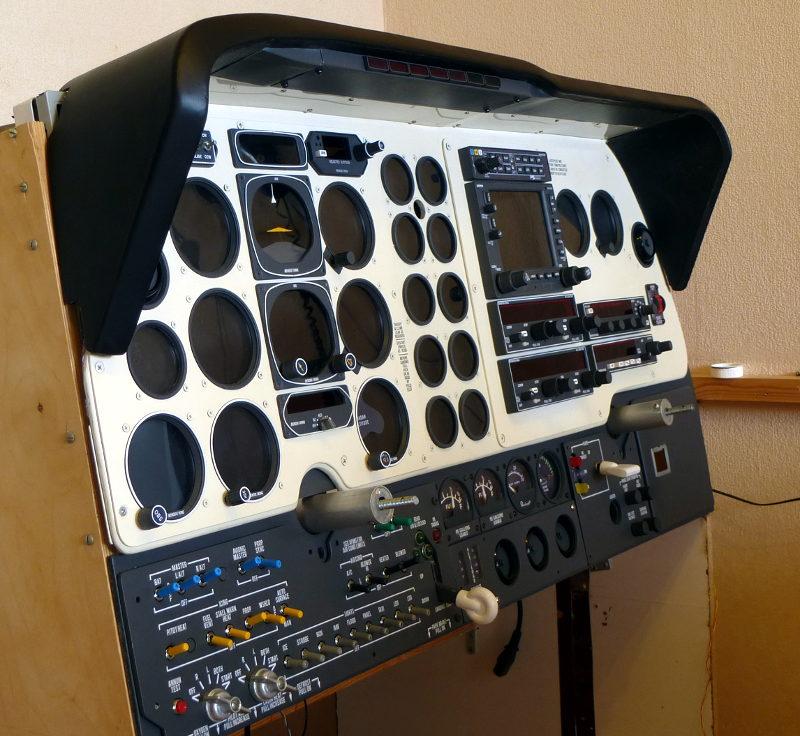 Baron 58 Simulator with Arduino - Cockpit Designers - X-Plane Org Forum