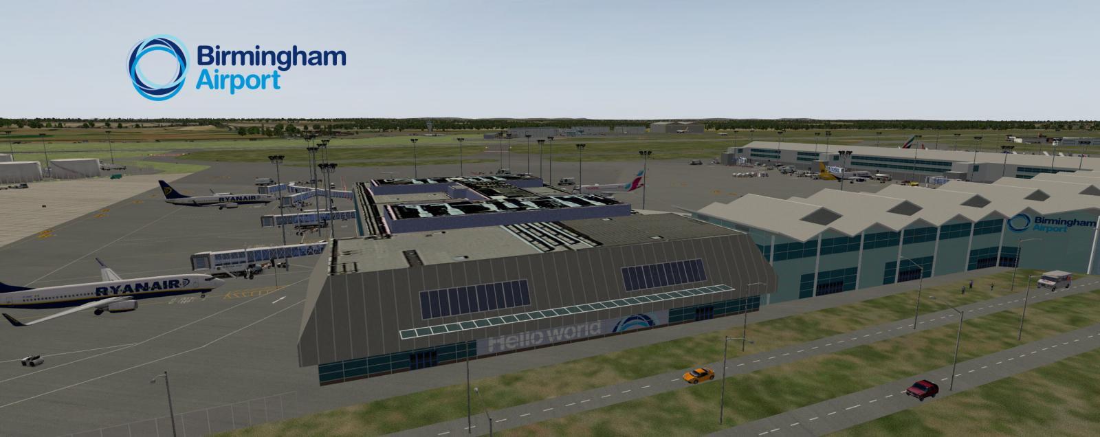 UKX Group Birmingham Release - Winsock Simulations - X-Plane