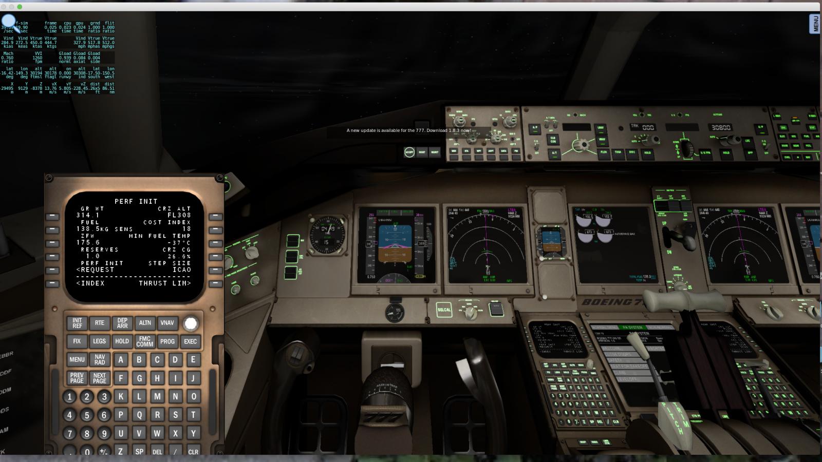 777 1 8 3 Update - Boeing 777 Worldliner Professional - X
