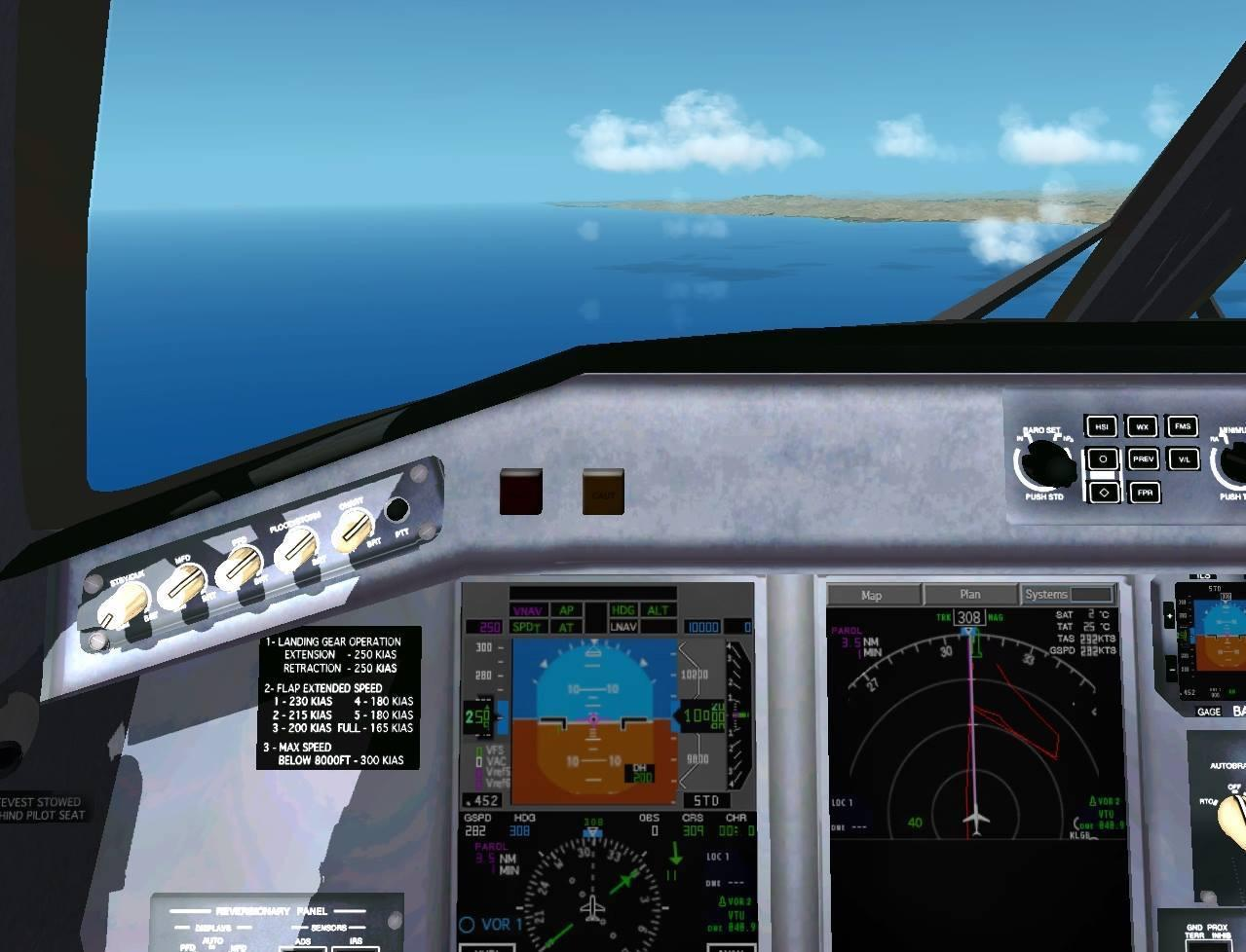 Display improvement for the freeware SSG Embraer 170/190 - Airplane