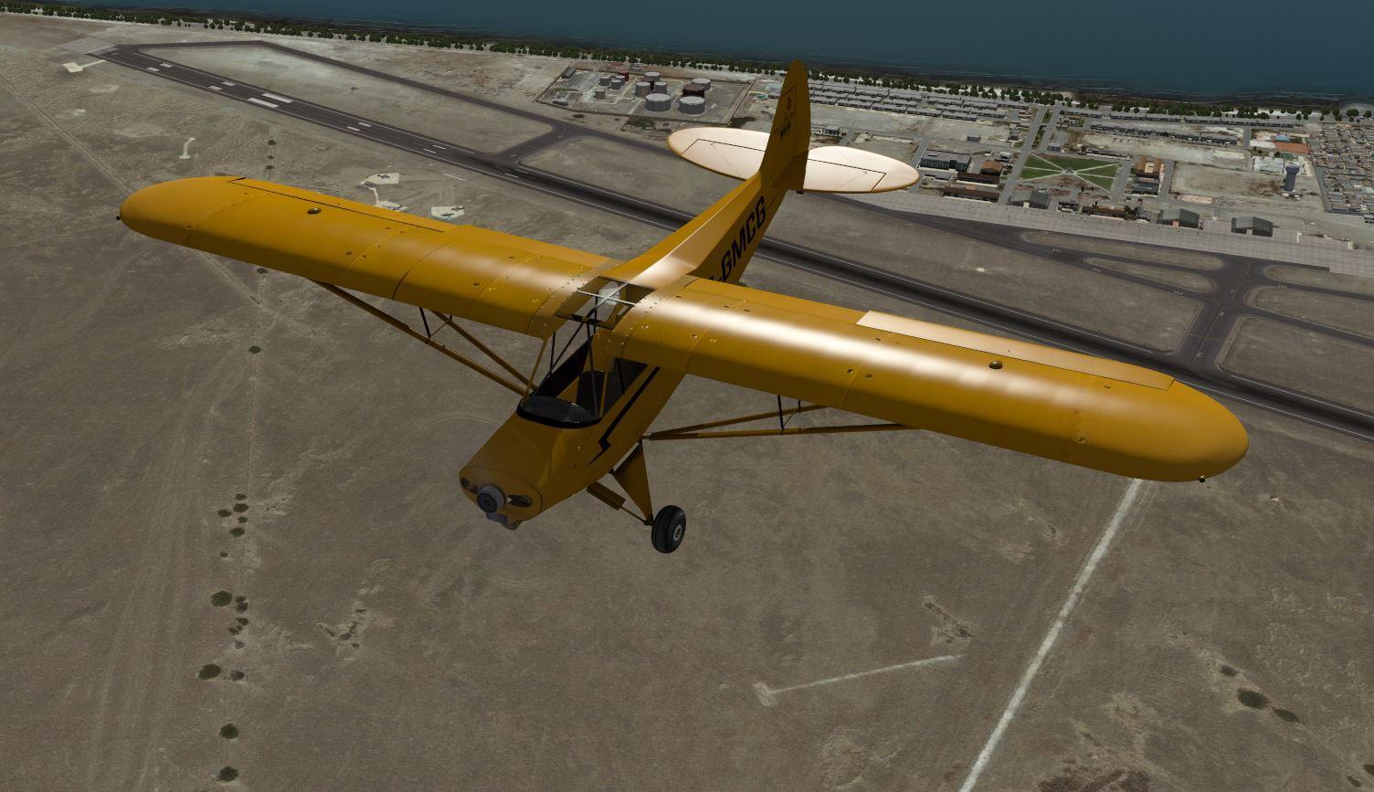 PA-18 Super Cub Series by AeroSim Dev Group - Airplane