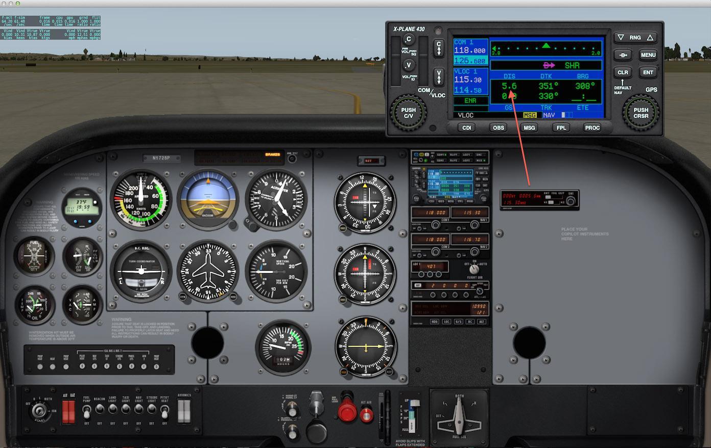 Default Cessna 172 Nav Radios - Technical Support - Cubby's Corner