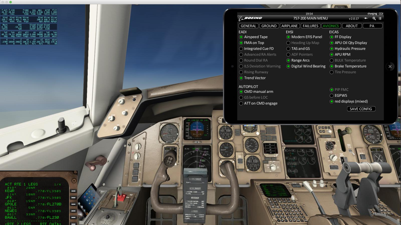 answered 757 v2 professional won t follow flight plan with latest rh forums x plane org Boeing 757 Interior Boeing 757 Seating Chart