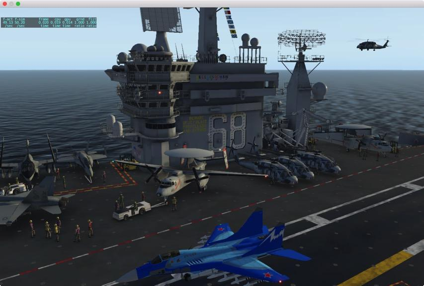 Aircraft Carrier Tower view - XP11: Is it a bug ? - X-Plane Org Forum