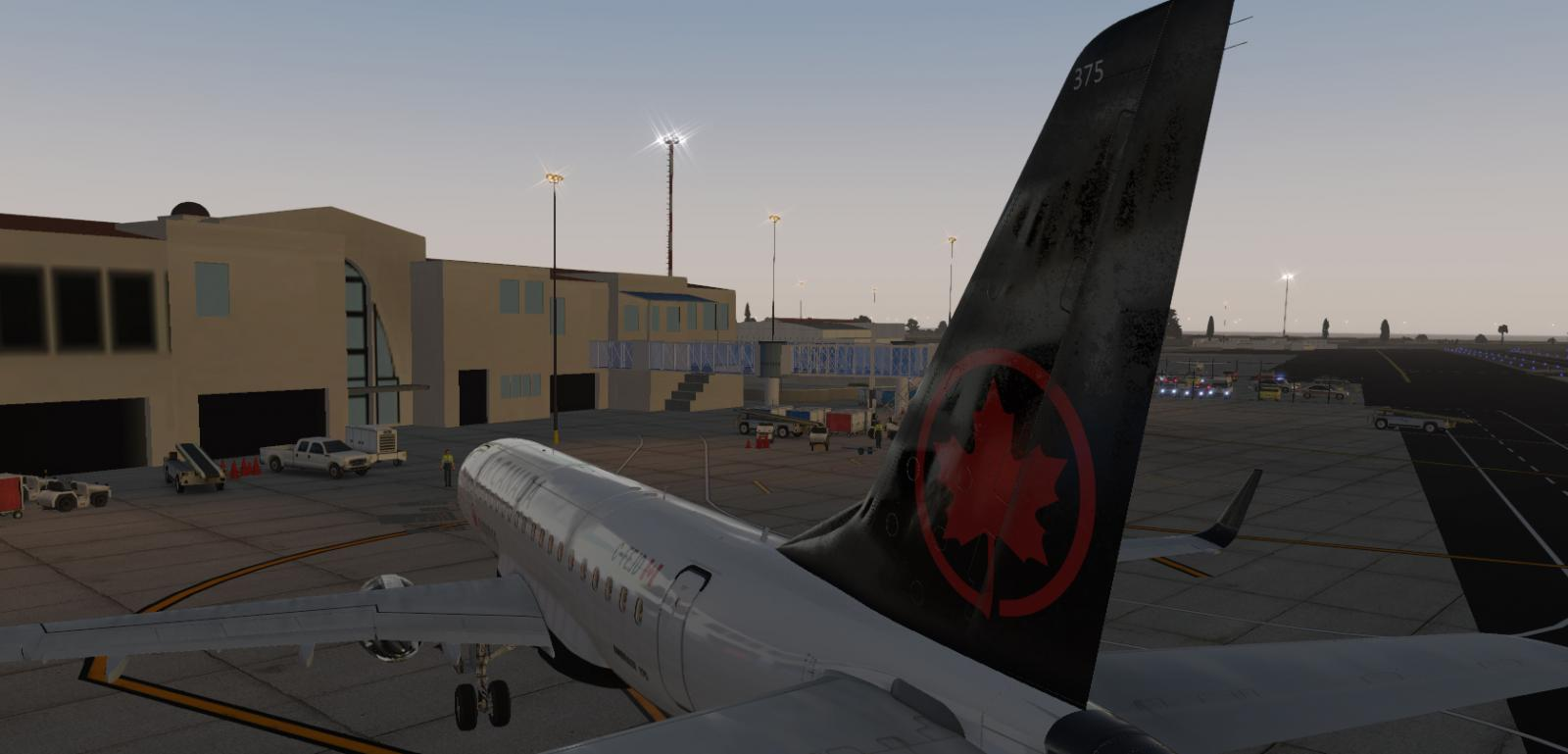 New Air Canada (Fictional) Livery for the X-Craft E-175 v2