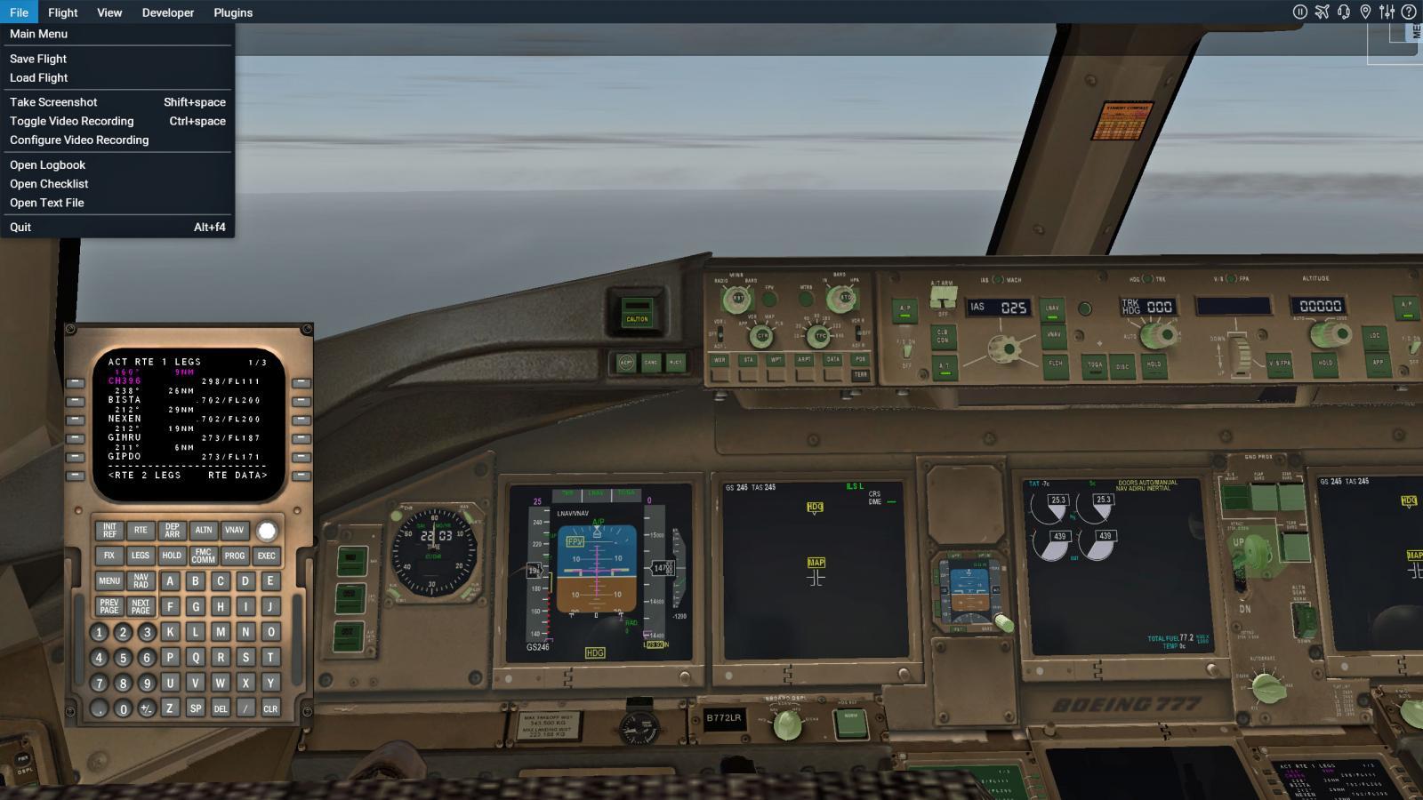 solved] V  1 92 doesnt work in X-plane 11 - Boeing 777 Worldliner