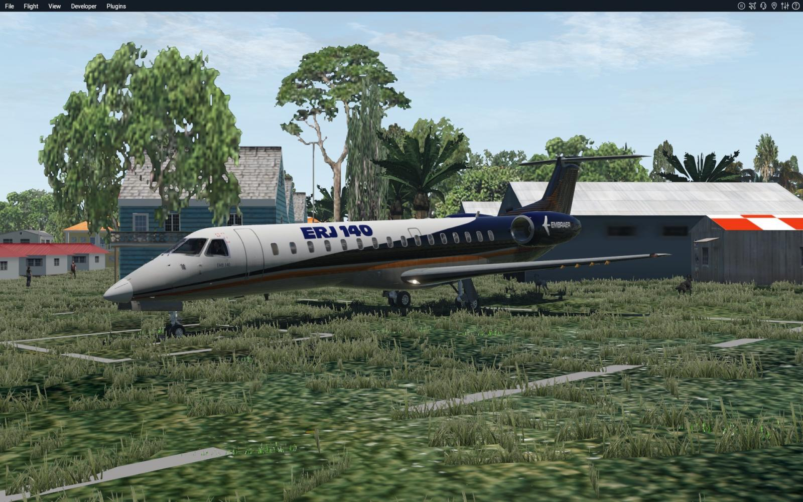 ERJ 140 V2 2 Will fly in XP11 - XP11 Compatibility List: Aircraft