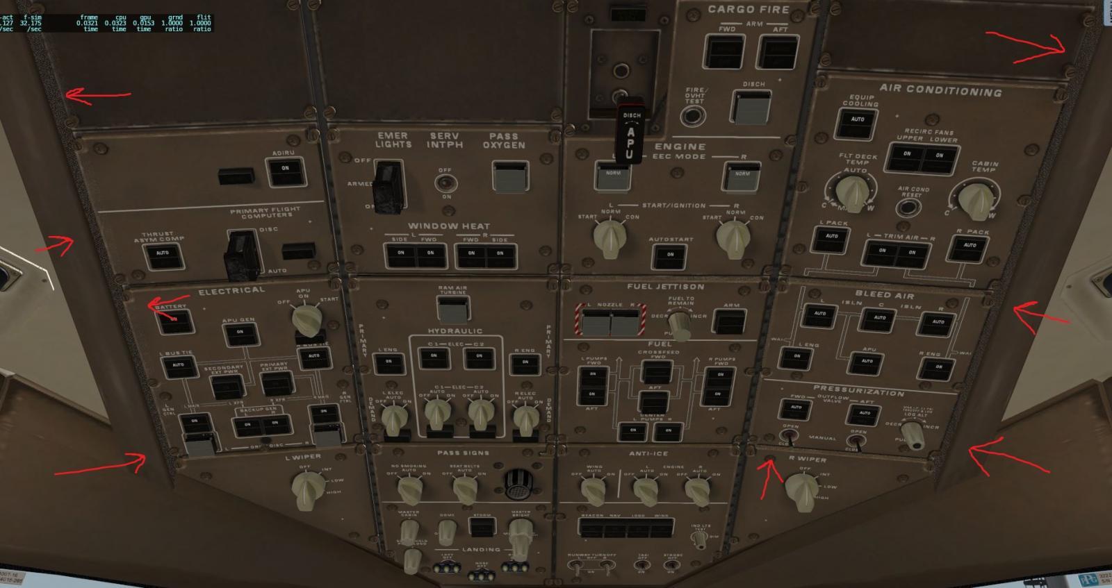 flickering problem with Boeing 777 Worldliner Professional - XP11