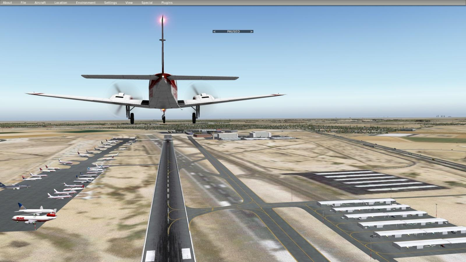 KGYR - Phoenix Goodyear Airport, Arizona USA - Scenery