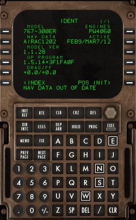 Updating the 767 FMC nav data - General X-Plane Forum - X-Plane Org