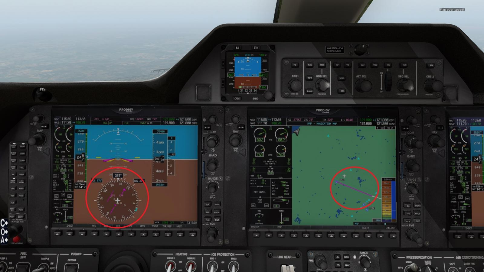 Two issues with the Phenom 100 - power control and autopilot