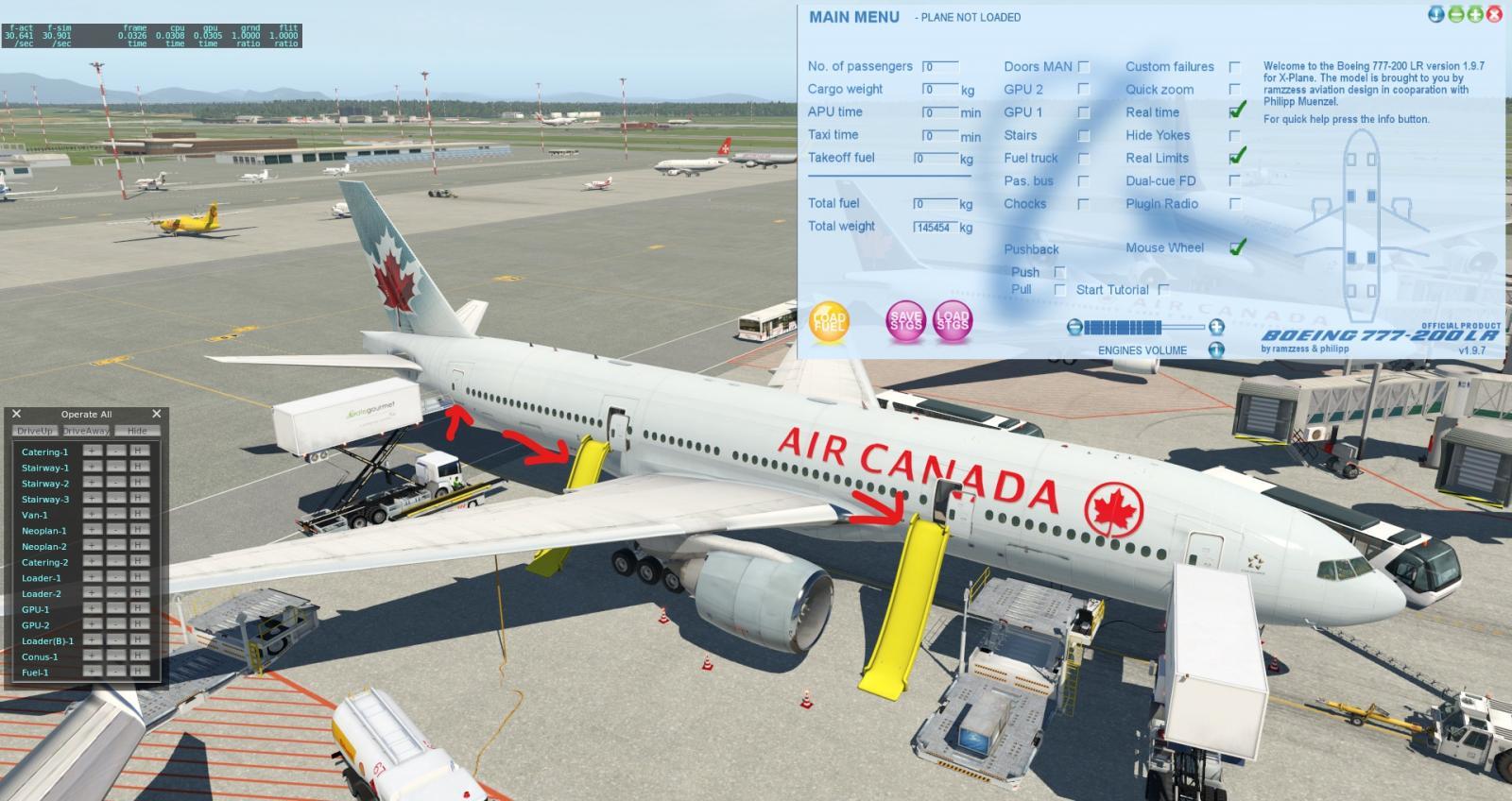 772LR and Ground Handling Deluxe - Boeing 777 Worldliner