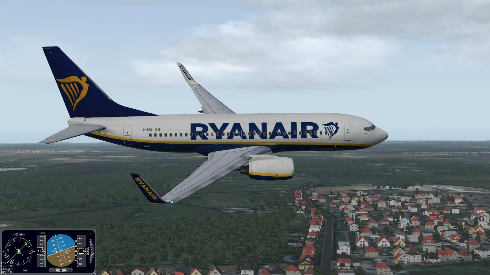 The new 737 700 from X737 Project , it's brilliant! - XP11