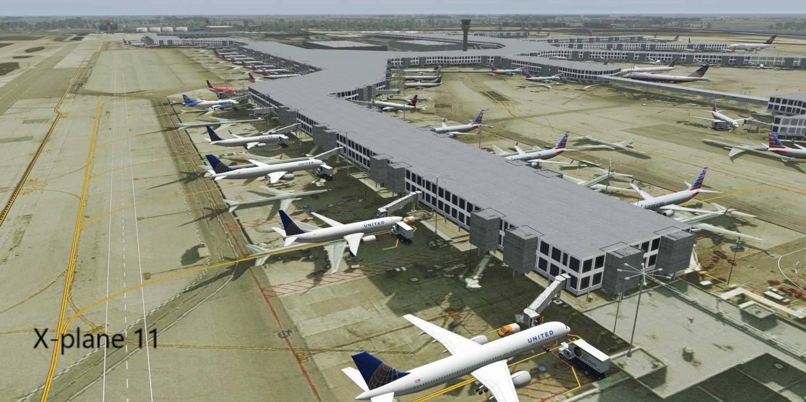 KMIA Miami International Airport - Scenery Packages (v11,v