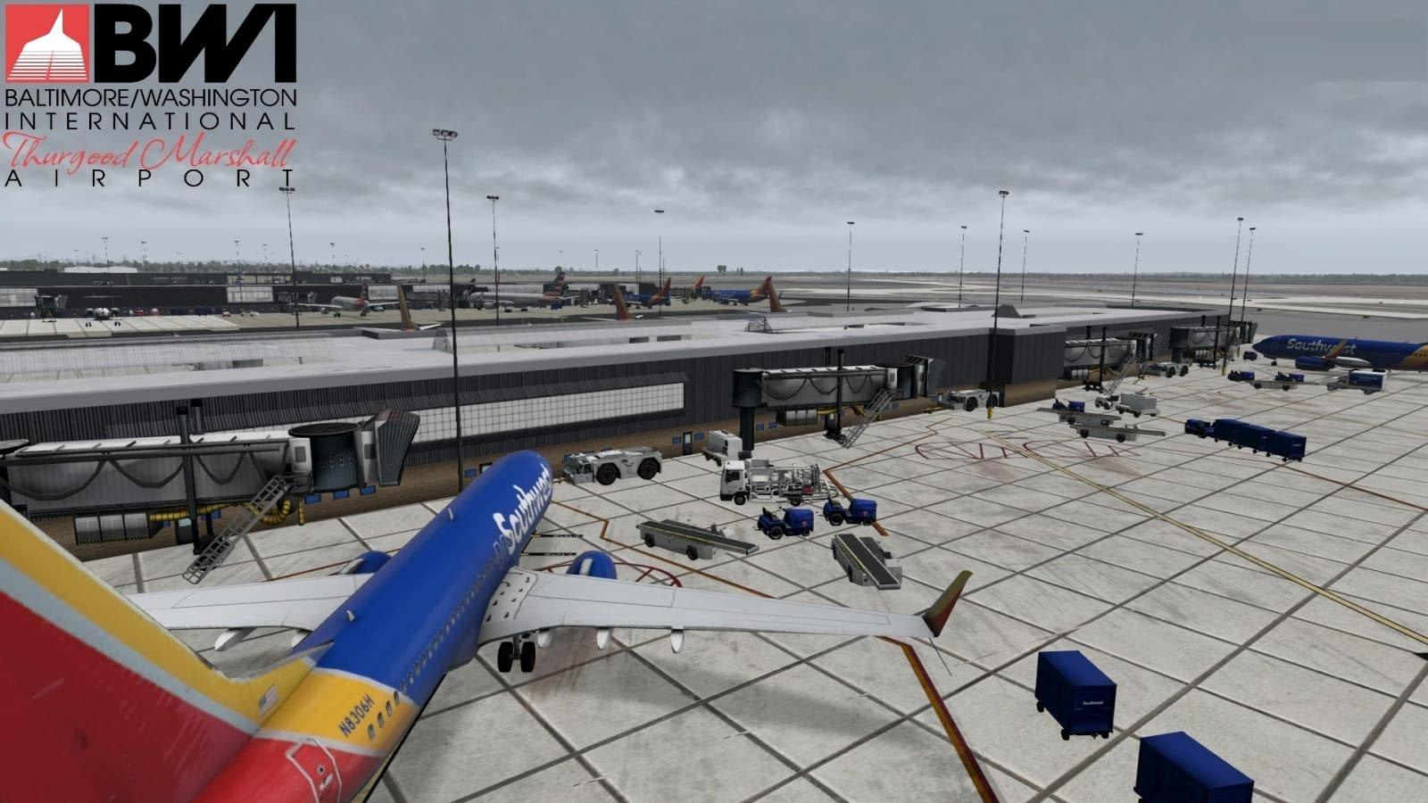 KBWI Baltimore Washington International Airport - News - X-Plane Org