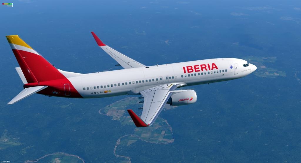 IBERIA Airlines B737-800 XP11 Default - Aircraft Skins - Liveries