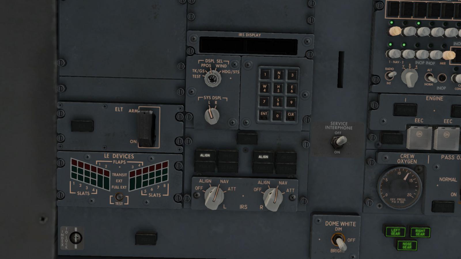 Boeing B738-800 by zibo - IRS problem - ZIBO B738-800
