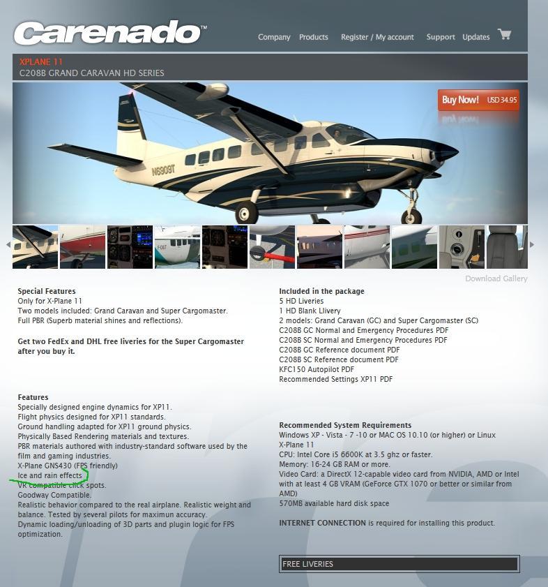 Caravan 208 is coming! - Page 3 - Carenado - Alabeo Support - X
