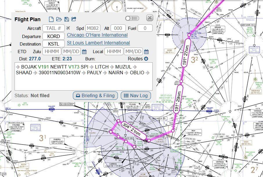ifr Flight Plan forms