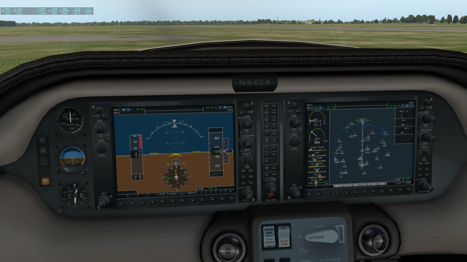 Cessna / Columbia 400 G1000 retrofit - XP11 General