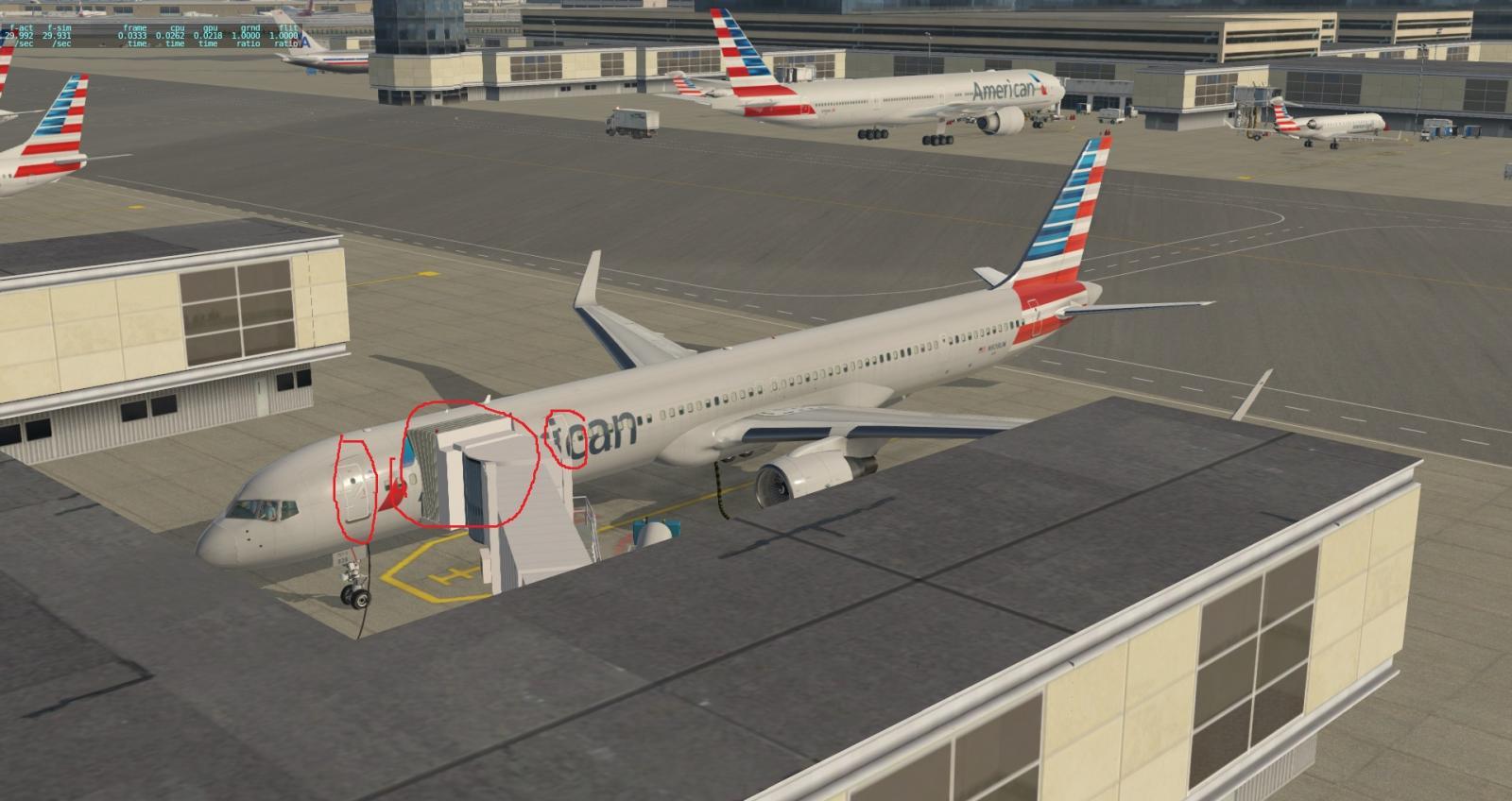 ANSWERED] Autogate / moving jetways do not align properly