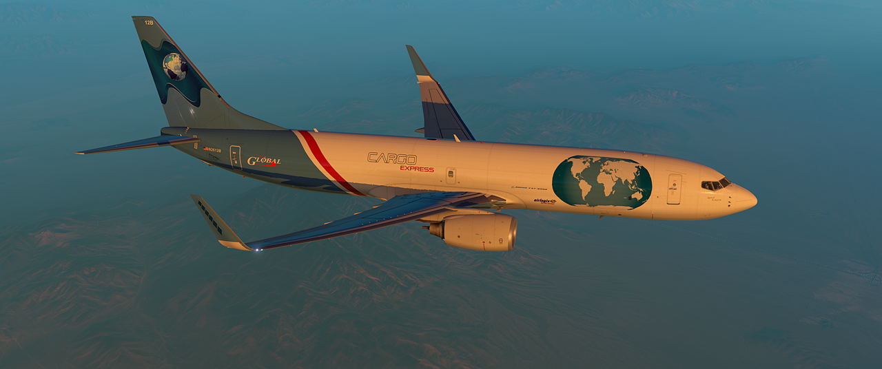 Boeing 737-800F Cargo Plane for XP 11 - Aircraft Skins - Liveries