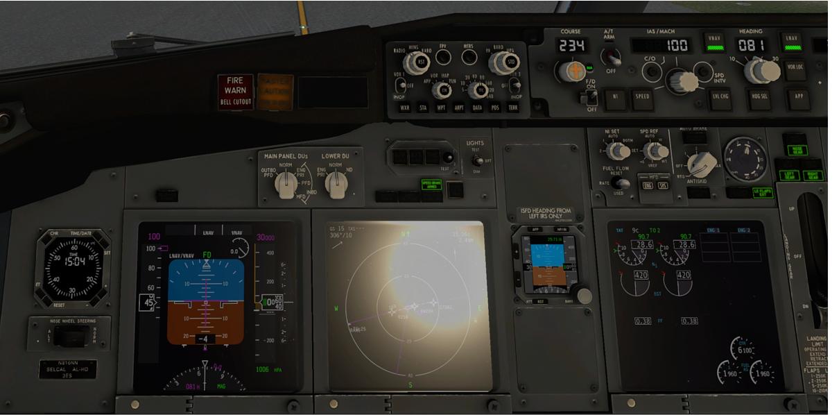 Boeing 737-800 Zibo Mod - Standard and RG MOD Textures Comparison