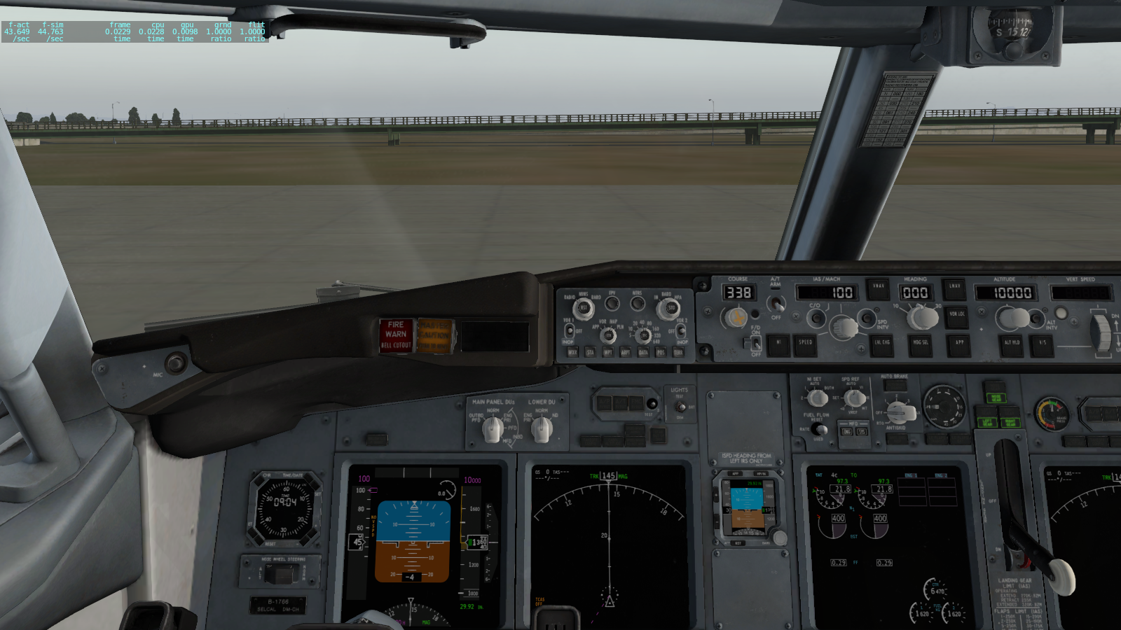 Zibo 738 eat too much frame rate - XP11 General discussion