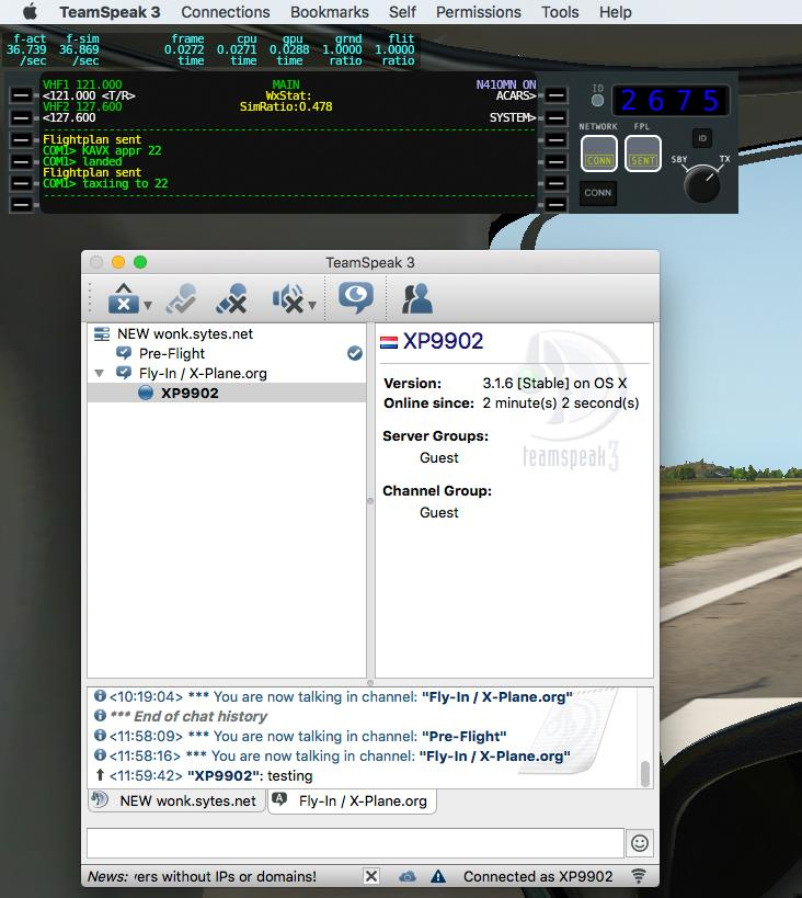 Frame Per Second - iMac the ideal machine for XP11 simulation? - X