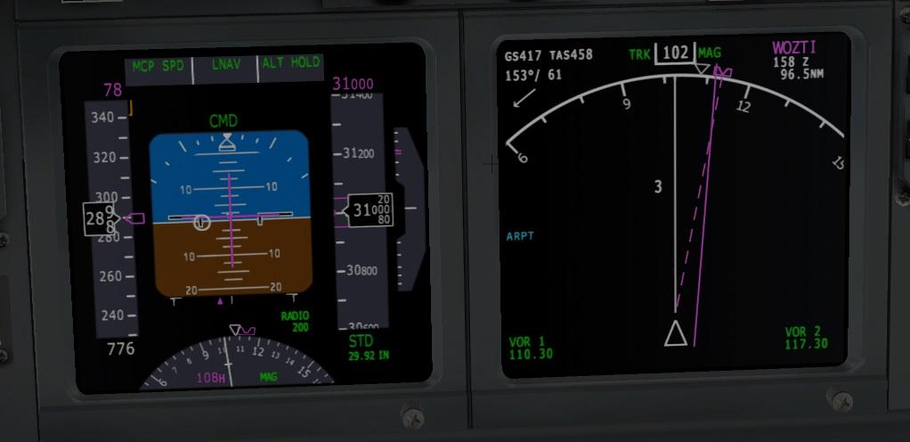 Trouble with LNAV and default FMC - x737 support - X-Plane Org Forum