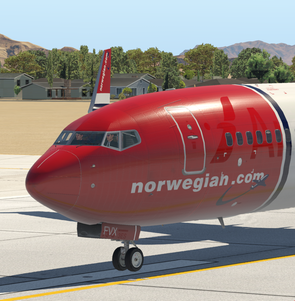Liveries - Bleed Through - ZIBO B738-800 modified - X-Plane