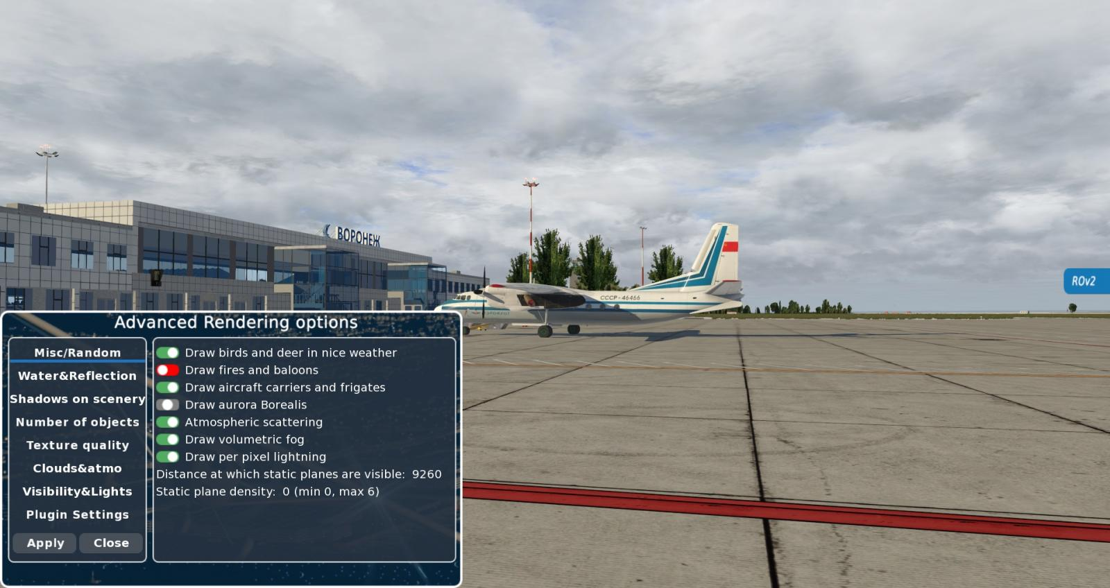 NEW Rendering options v2 plugin for XP11 - XP11 General discussion