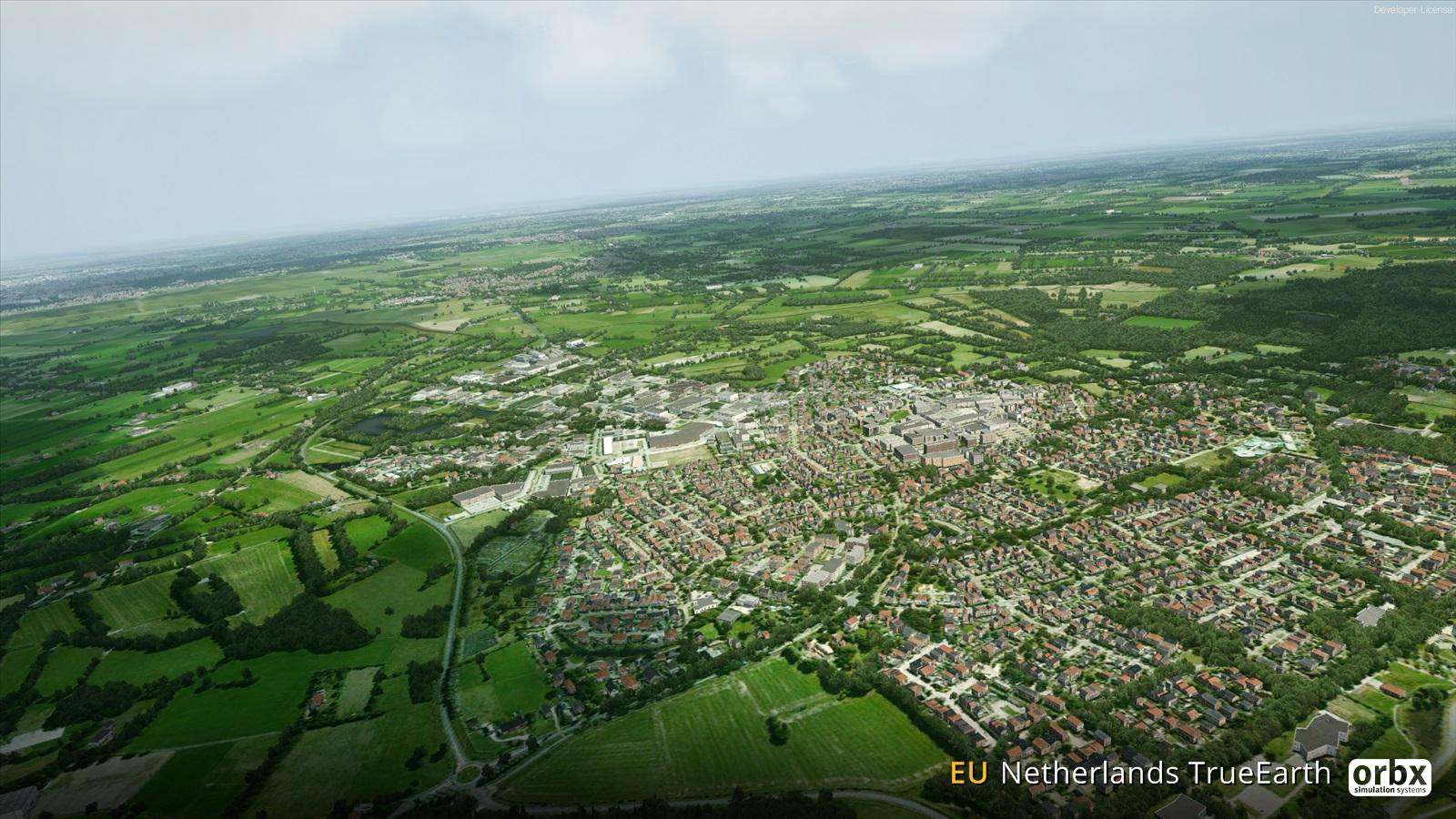 Orbx Netherlands TrueEarth     will come for XP too! - General X