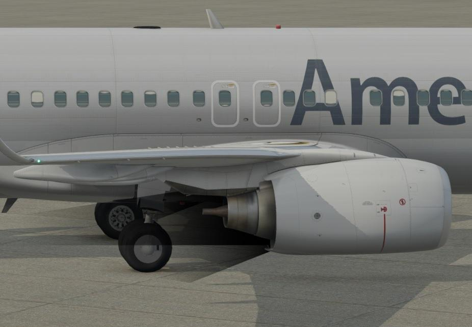 strange engine exhaust shimmering - XP11 General discussion - X