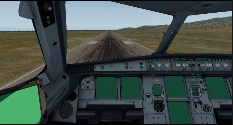 FF A320 Ultimate Install -Green Flight Screens - 320