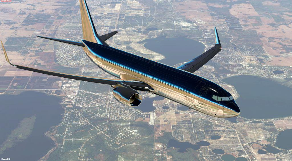 Shiny Livery for Boeing 737-800 (Default) - Aircraft Skins
